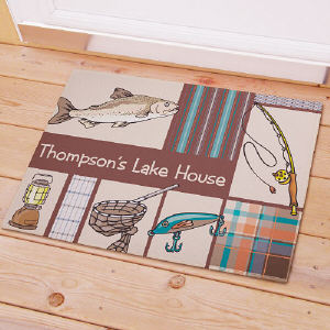 Fisherman Frenzy Welcome Doormat