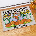 Scarecrow Welcome Doormat
