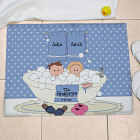 Personalized Tub Couple Floor Mat