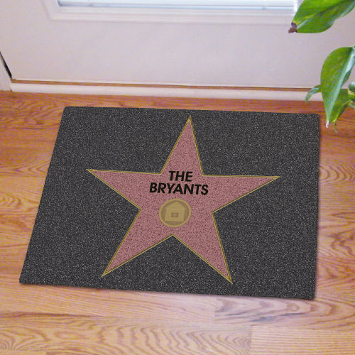 Walk of Home Personalized Welcome Doormat | Personalized Doormats