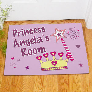 Princess Personalized Doormat