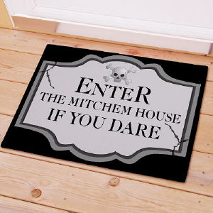 Halloween Welcome Doormat