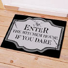 Personalized Halloween Welcome Doormat