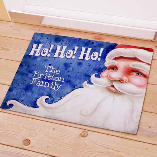Personalized Santa Welcome Doormat 83137957