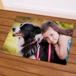 Picture Perfect Pet Photo Doormat