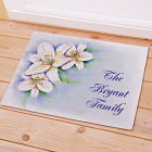 Personalized Easter Lily Doormat