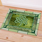 Personalized Irish Celtic Knot Doormat