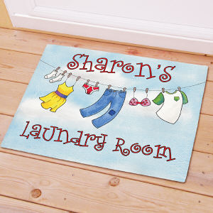Personalized Laundry Room Doormat 83143227