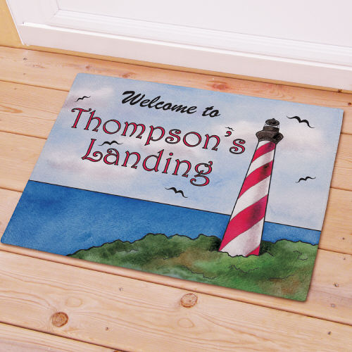 Personalized Lighthouse Doormat 83156417X