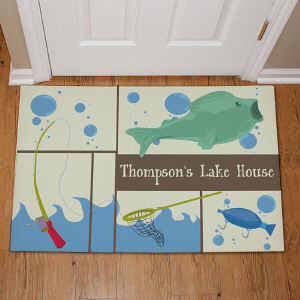 Personalized Fisherman Doormat