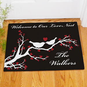 Personalized Love Nest Doormat