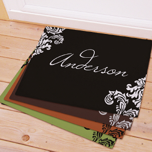 Personalized Family Welcome Doormat 83174237X