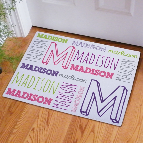 Kids Bedroom Doormat | Personalized Doormats