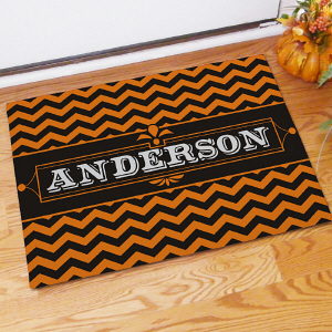 Personalized Family Halloween Doormat 83178657X