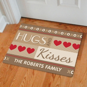 Romantic Welcome Doormat