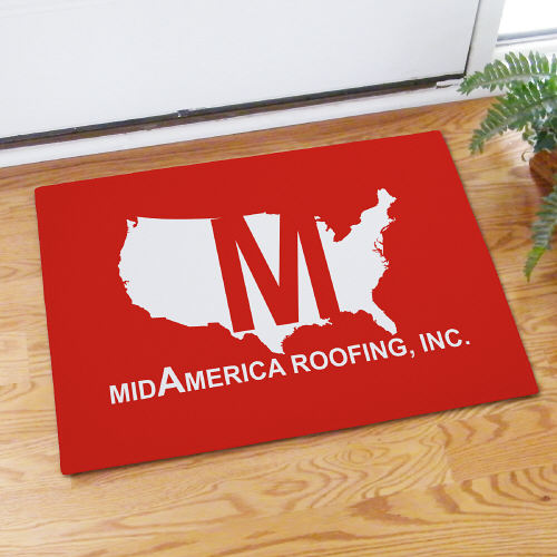 Custom Printed Doormat Floor Mat | Personalized Doormats