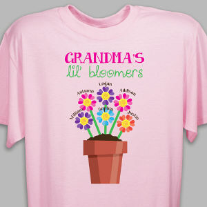 Personalized Lil' Bloomers T-Shirt