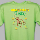 Personalized Monkey Bunch T-Shirt