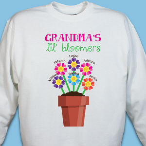Personalized Lil' Bloomers Sweatshirt