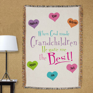 Personalized God Gave Me The Best Tapestry Throw Blanket 83018865
