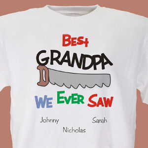 Personalized Best We Ever Saw T-Shirt