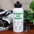 Personalized Golf Buddies Water Bottle
