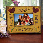 Friends Family Faith Personalized Printed Frame 429830