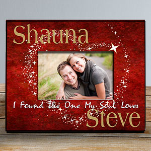 Personalized Soul Mates Picture Frame