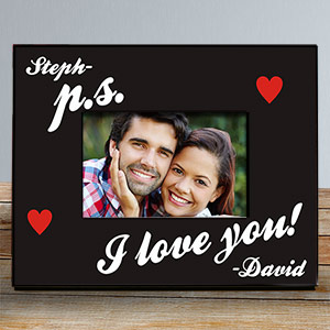 P.S. I Love You Personalized Picture Frame 432570