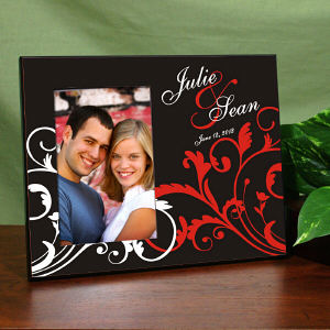 Personalized Couple's Love Frame