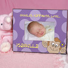Personalized Monkey Printed Frame 436790