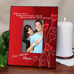 Love Personalized Printed Picture Frame