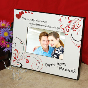 Personalized Love Printed Frame