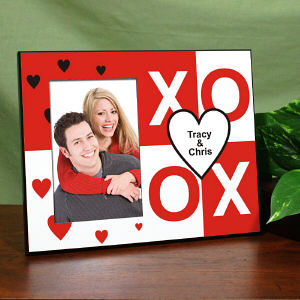 Personalized XOXO Printed Frame