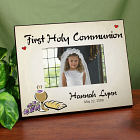 Personalized First Holy Communion Printed Picture Frame