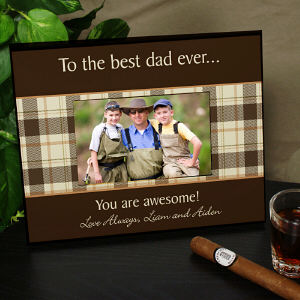Personalized Any Message Printed Picture Frame