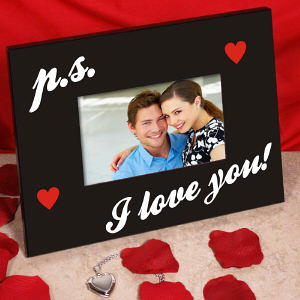 P.S. I Love You Printed Frame