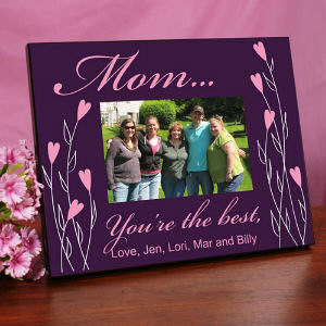 Personalized You're The Best Printed Frame