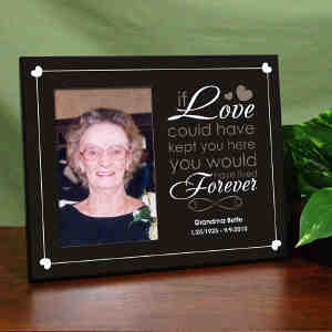 Personalized Remembrance Printed Frame