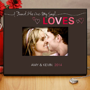 Personalized Love Printed Picture Frame