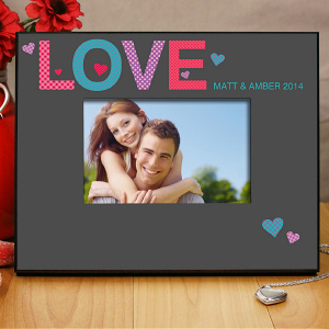 Couples Love Printed Frame