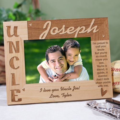 Personalized Uncle Picture Frame