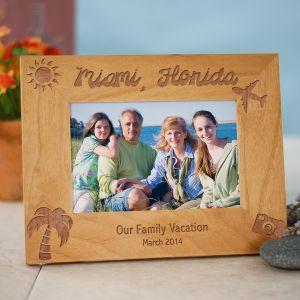 Our Vacation Picture Frame