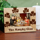 Personalized Irish Family Wood Picture Frame