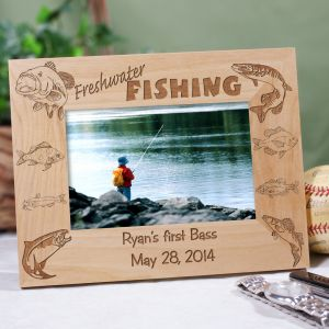 Freshwater Fishing Personalized Frame