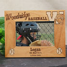 Engraved Warriors Baseball Team Picture Frame 9W00011