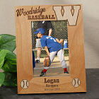 Engraved WAA Baseball Team Picture Frame 9W00151