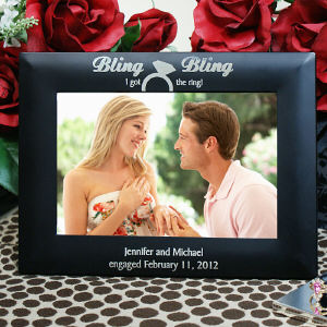 Engraved Engagement Frame L396518x