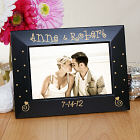 Engraved Couples Black Frame L581617x
