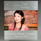 Engraved 21st Birthday Silver Picture Frame M39720
